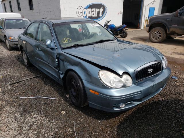 Salvage cars for sale from Copart Hillsborough, NJ: 2004 Hyundai Sonata GL