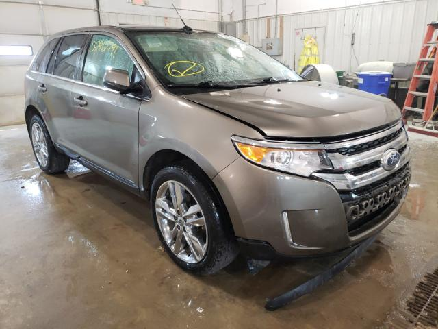 Salvage cars for sale from Copart Columbia, MO: 2013 Ford Edge Limited