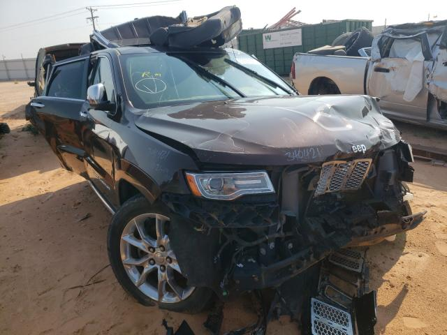 Salvage cars for sale at Andrews, TX auction: 2014 Jeep Grand Cherokee