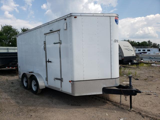 Interstate Cargo Trailer salvage cars for sale: 2015 Interstate Cargo Trailer