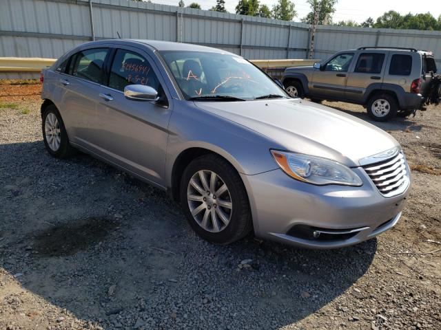 Salvage cars for sale from Copart Chatham, VA: 2013 Chrysler 200 Limited