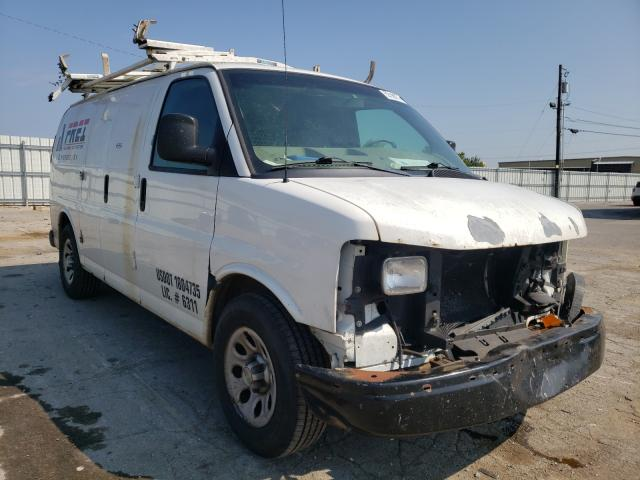 Salvage cars for sale from Copart Lexington, KY: 2011 Chevrolet Express G1