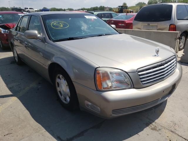 Cadillac Vehiculos salvage en venta: 2001 Cadillac Deville