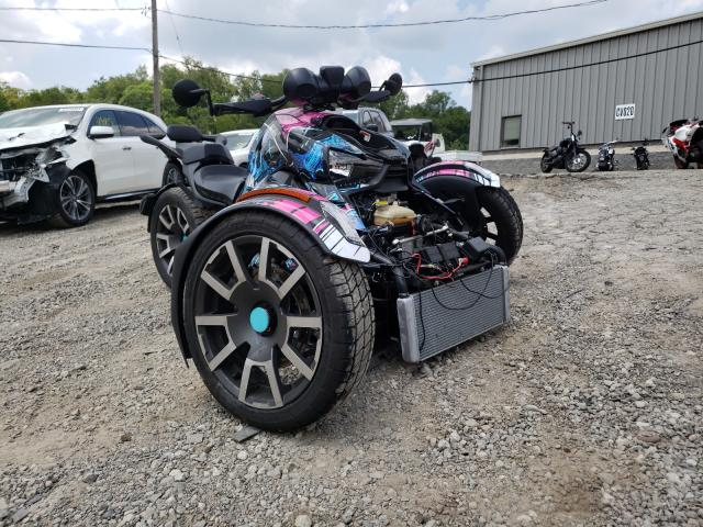 Salvage cars for sale from Copart West Mifflin, PA: 2021 Can-Am Ryker Rall