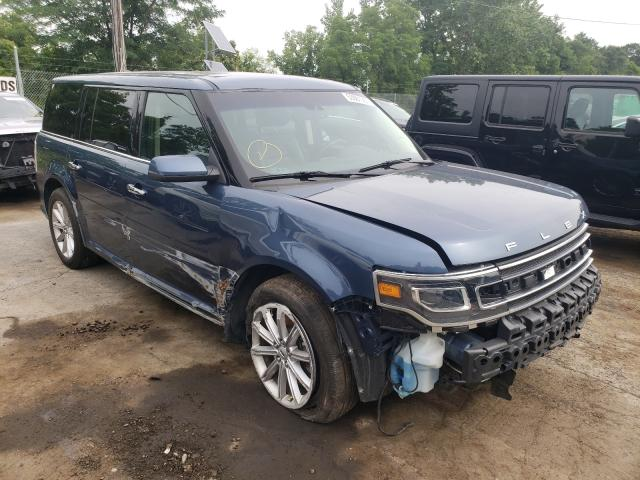 Salvage cars for sale from Copart Marlboro, NY: 2019 Ford Flex Limited