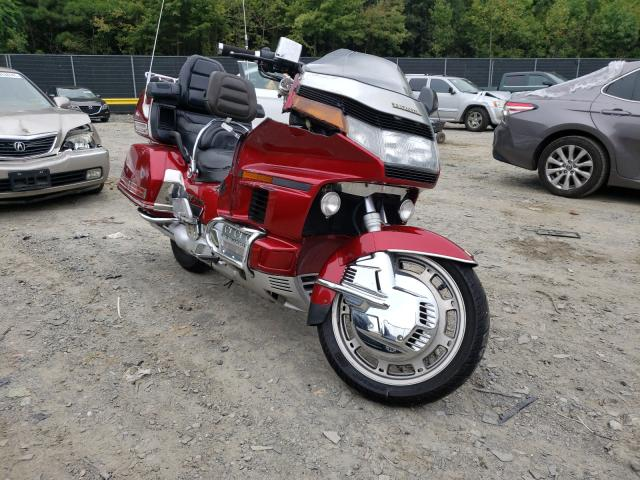 Salvage cars for sale from Copart Waldorf, MD: 1993 Honda GL1500 I