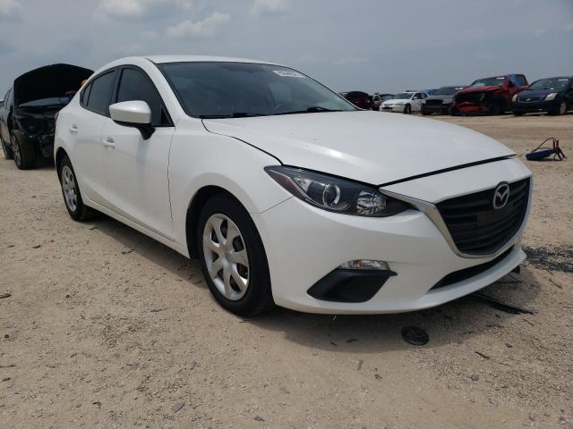 Salvage cars for sale from Copart San Antonio, TX: 2016 Mazda 3 Sport