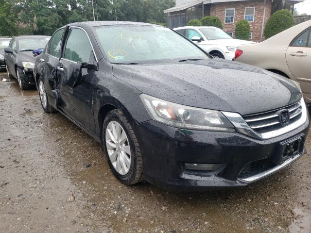 Salvage cars for sale from Copart Billerica, MA: 2014 Honda Accord EX