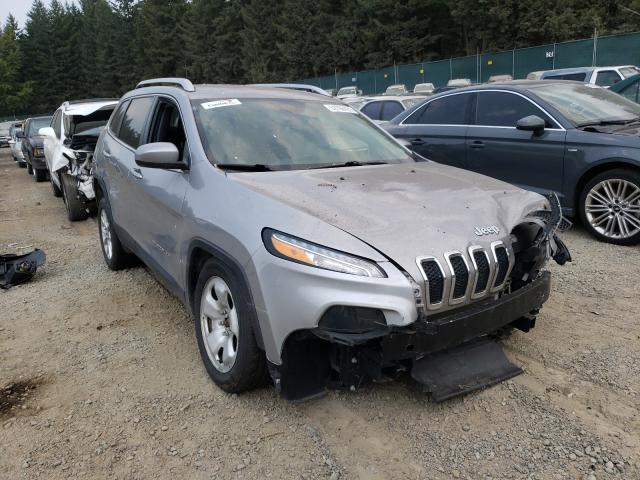 Salvage cars for sale from Copart Graham, WA: 2018 Jeep Cherokee L