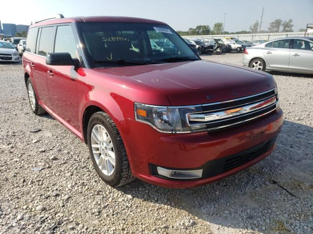 Salvage cars for sale from Copart Des Moines, IA: 2013 Ford Flex SEL