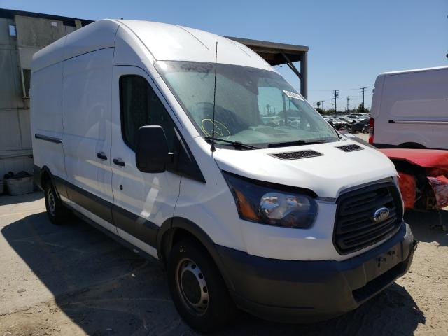 Salvage trucks for sale at Los Angeles, CA auction: 2017 Ford Transit T