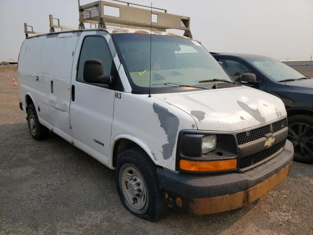 Salvage cars for sale from Copart Rocky View County, AB: 2006 Chevrolet Express G2