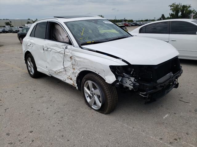 Salvage cars for sale from Copart Orlando, FL: 2021 Audi Q3 Premium