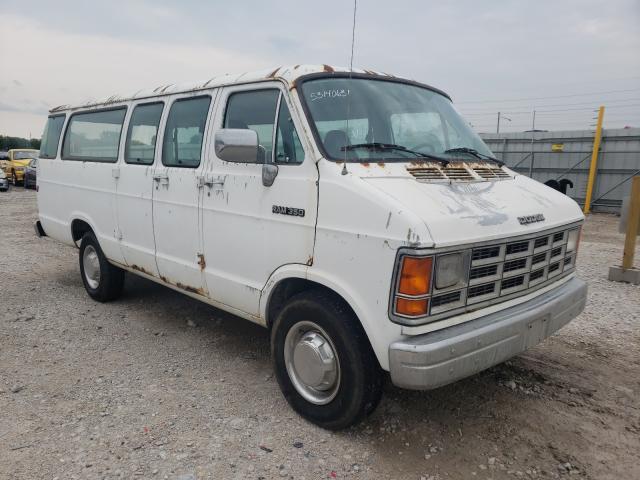 Vehiculos salvage en venta de Copart Des Moines, IA: 1992 Dodge RAM Wagon