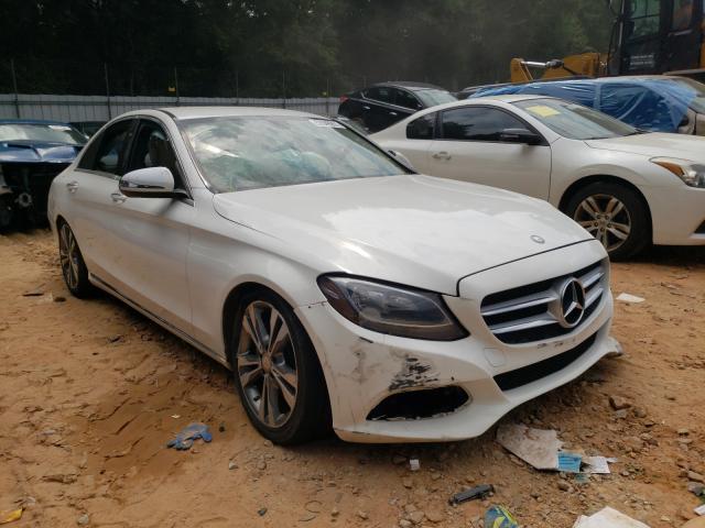 Vehiculos salvage en venta de Copart Austell, GA: 2016 Mercedes-Benz C300