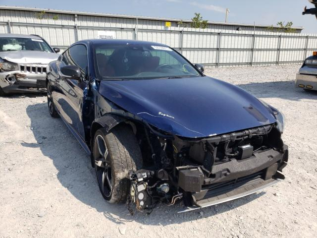 Salvage cars for sale from Copart Walton, KY: 2018 Infiniti Q60 RED SP