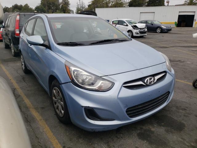 Hyundai salvage cars for sale: 2012 Hyundai Accent GLS