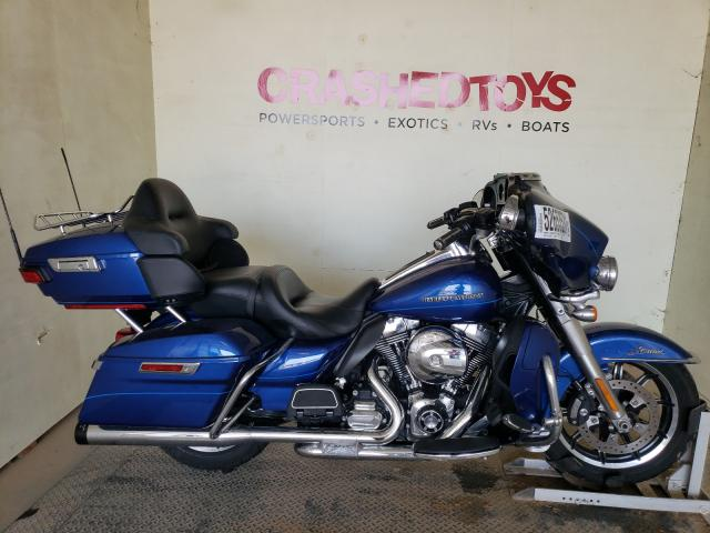 Salvage cars for sale from Copart China Grove, NC: 2015 Harley-Davidson Flhtk Ultr