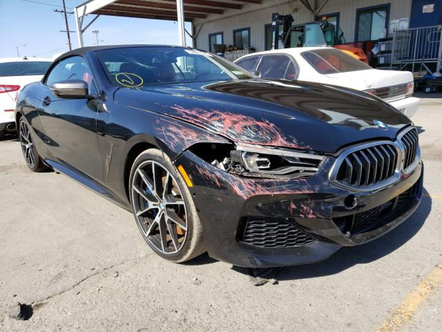 Salvage cars for sale from Copart Los Angeles, CA: 2019 BMW M850XI