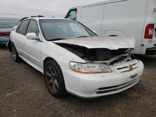 Salvage cars for sale from Copart San Martin, CA: 2001 Honda Accord EX