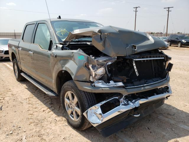 Salvage cars for sale from Copart Andrews, TX: 2019 Ford F150 Super