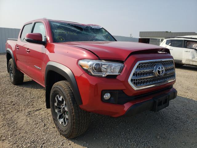 Vehiculos salvage en venta de Copart Bismarck, ND: 2016 Toyota Tacoma DOU