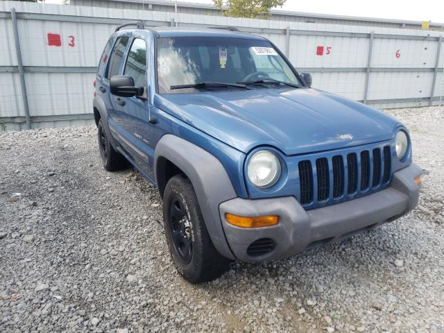 Salvage cars for sale from Copart Walton, KY: 2003 Jeep Liberty SP