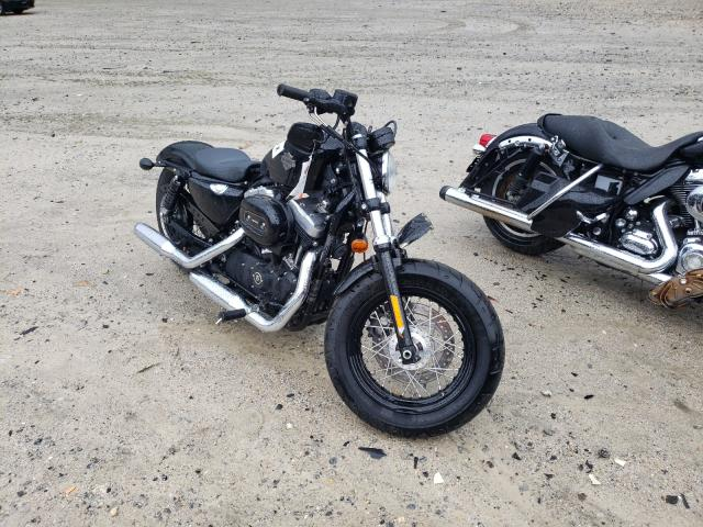 Salvage motorcycles for sale at Candia, NH auction: 2015 Harley-Davidson XL1200 FOR