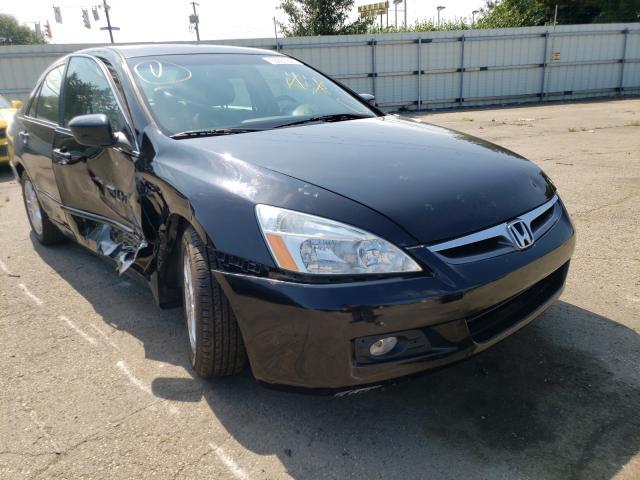 Vehiculos salvage en venta de Copart Moraine, OH: 2007 Honda Accord EX
