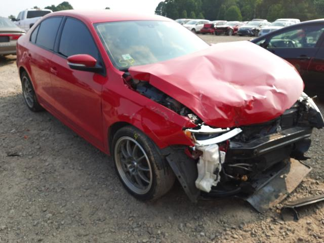 Salvage cars for sale at Conway, AR auction: 2012 Volkswagen Jetta SE