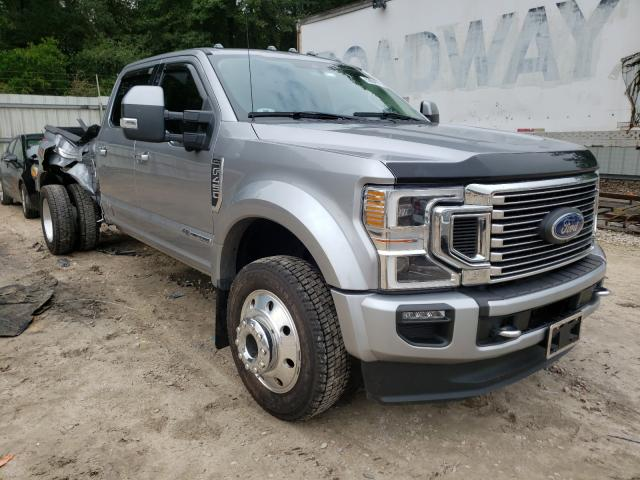 Salvage cars for sale from Copart Midway, FL: 2020 Ford F450 Super