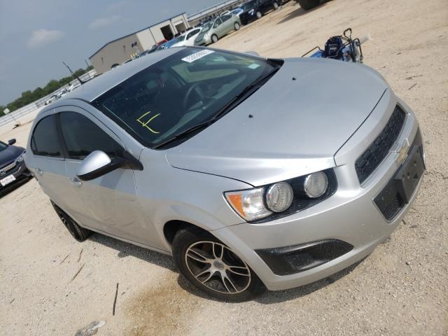 Salvage cars for sale from Copart San Antonio, TX: 2014 Chevrolet Sonic LT