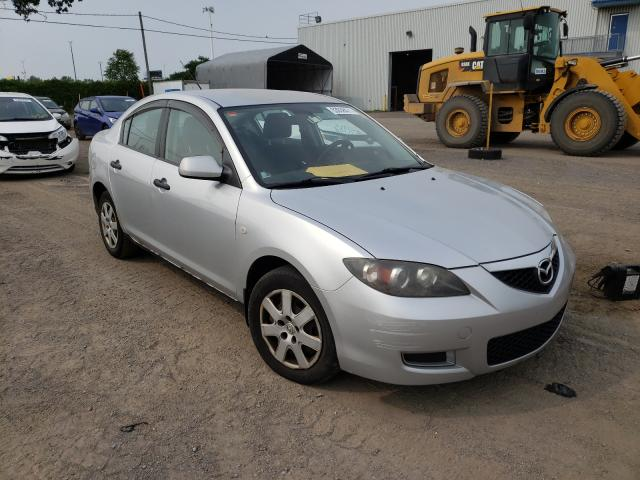 Salvage cars for sale at Montreal Est, QC auction: 2008 Mazda 3 I