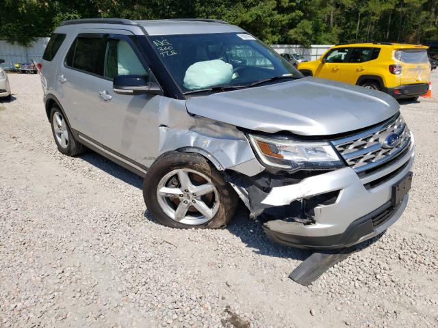Salvage cars for sale from Copart Knightdale, NC: 2018 Ford Explorer X