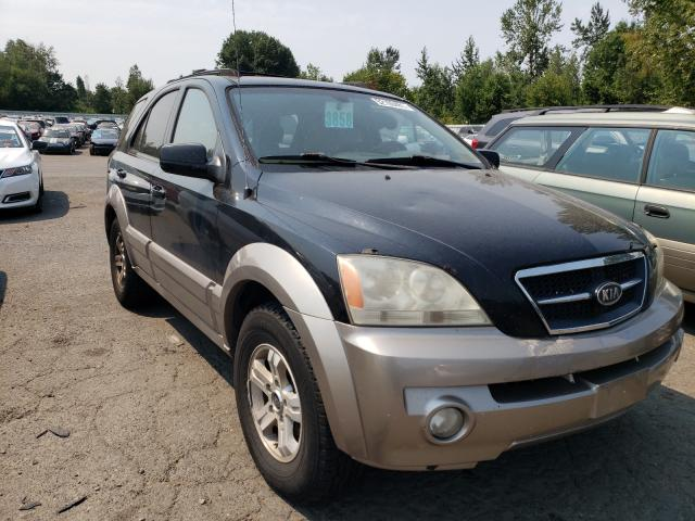 Salvage cars for sale from Copart Portland, OR: 2005 KIA Sorento EX