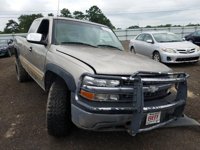 Salvage cars for sale from Copart Newton, AL: 2002 Chevrolet Silverado