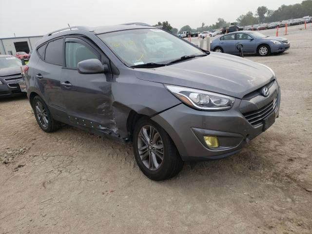 Salvage cars for sale from Copart Kansas City, KS: 2014 Hyundai Tucson GLS
