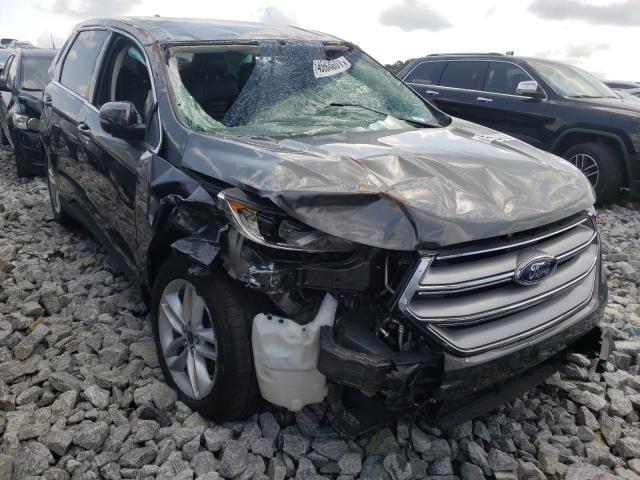 Vehiculos salvage en venta de Copart Loganville, GA: 2017 Ford Edge SEL