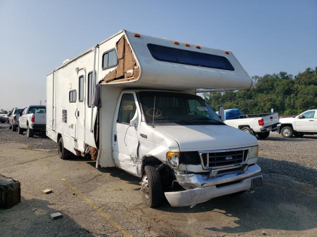 Salvage cars for sale from Copart West Mifflin, PA: 2004 Ford Econoline