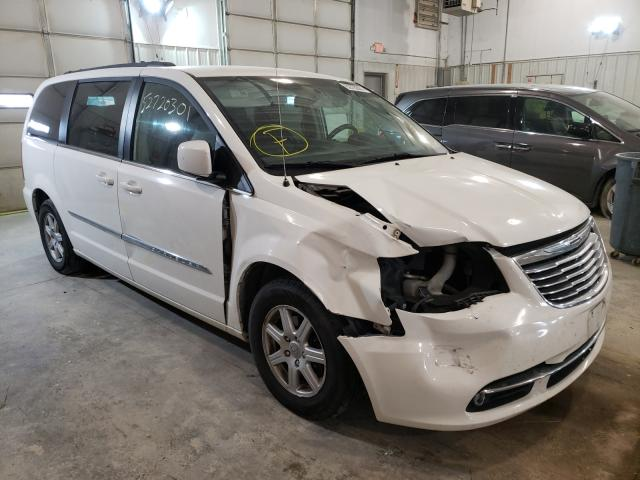 Salvage cars for sale from Copart Columbia, MO: 2012 Chrysler Town & Country