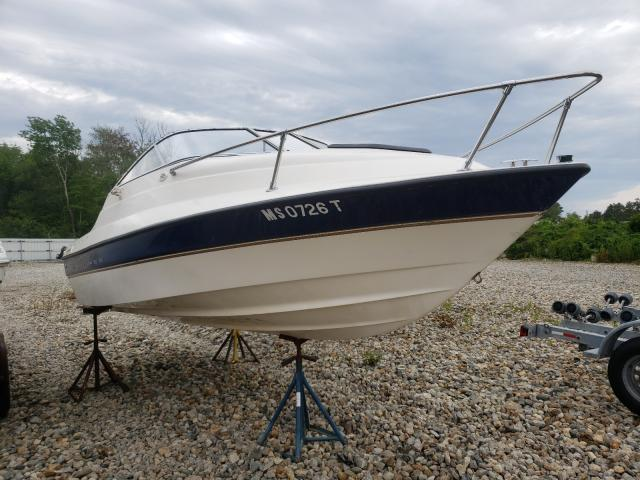 Salvage boats for sale at West Warren, MA auction: 2003 Bayliner Boat Only