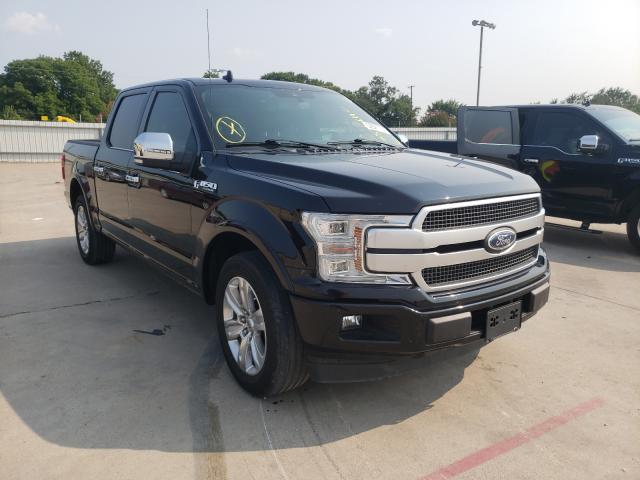 Vehiculos salvage en venta de Copart Wilmer, TX: 2018 Ford F150 Super