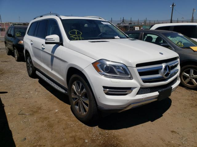 Salvage cars for sale from Copart San Martin, CA: 2014 Mercedes-Benz GL 450 4matic