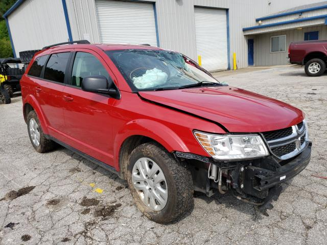 Dodge Journey salvage cars for sale: 2018 Dodge Journey