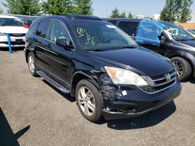 Salvage cars for sale from Copart Bowmanville, ON: 2010 Honda CR-V EXL