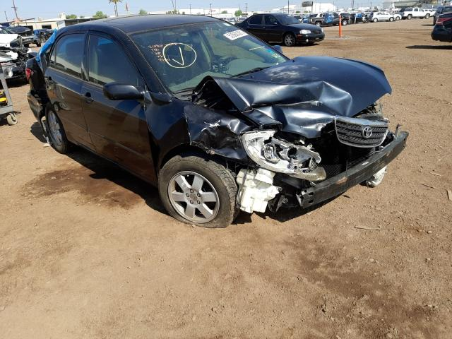 Salvage cars for sale from Copart Phoenix, AZ: 2006 Toyota Corolla CE