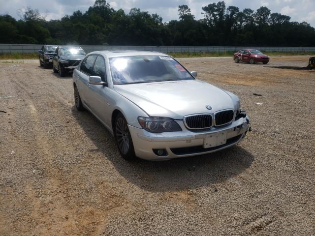 Salvage cars for sale from Copart Theodore, AL: 2007 BMW 750