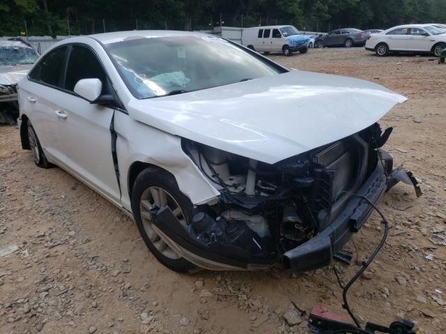 Salvage cars for sale from Copart Austell, GA: 2015 Hyundai Sonata SE