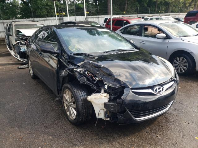 Salvage cars for sale from Copart Austell, GA: 2014 Hyundai Elantra SE