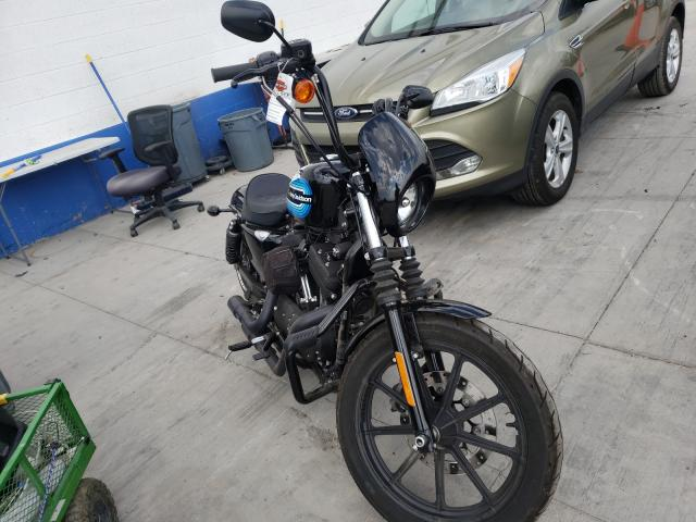 Salvage cars for sale from Copart Farr West, UT: 2019 Harley-Davidson XL1200 NS